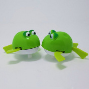 ZHJZ Frog Wind Up Frogman Diver Toy Swimming Party Kid Toy
