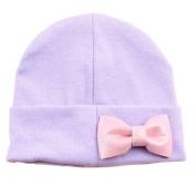 Bestanx Newborn Baby Bowknot Hats Infant Cotton Hat Caps