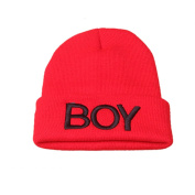 Bestanx Toddler Kids Boy Baby Infant Winter Warm Crochet Knit Ski Hat Soft Caps 1-8Y