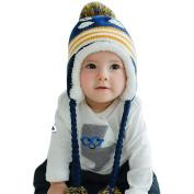 Bestanx Winter Kids Baby Crochet Earflap Infant Boys Soft Warm Hat Animal Pattern Cap