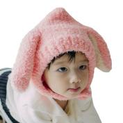 Weant Baby Cap Boys Girls Ear Cat Infant Beanie Hat Warm Cap/Hat with PomPom