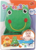Baby Todddler Frog Toy Organiser / Bath Toy Organiser - Toddler Bath Tub Toy Storage