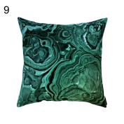Mountains Rivers Pillow Case Cushion Cover Waist Rest Home Room Sofa Decor