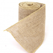 Westeng 1 Roll Ribbon Wrap Fabric for Wedding Home Decoration/Vintage DIY Handmade Crafts Wide Burlap 3m x 10cm