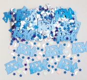 Its A Boy New Baby Confetti Blue Table Sprinkles Scatter Party Decorations Pack