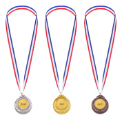 Gold Sliver Bronze Olympic Style Metal Winner Medals Gold Sliver Bronze Awards