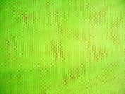 Dress Net Fabric 147cm Width, 22 colour options Sold by the metre, Free Delivery - Floresent Green