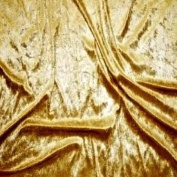 Crushed Velvet Fabric 147cm width. 12 colour options Sold by the metre, Free Delivery - Gold
