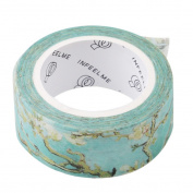 Chinget Decorative Floral Washi Tape Masking Tape Scrapbook DIY Craft Gift