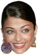 Aishwarya Rai Celebrity Mask, Card Face and Fancy Dress Mask