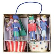 Nutcracker Scene Cupcake Kit