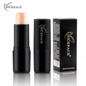 Xshuai BLING NICEFACE Women Highlight Powder Stick Pink and Gold Makeup Foundation Concealer