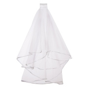 Sumind Bridal Veil Wedding Veil with Comb for Bridal Shower Hen Night Party