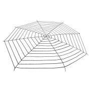 5 Metres Halloween Black Super Large Stretch Spider Web for Halloween Decor Decorations Outdoor Yard - Terrify Your Neighbours