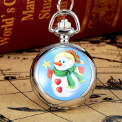 UPXIANG Christmas Vintage Style Pocket Chain Necklace Pocket Watch - Best Christmas Gift