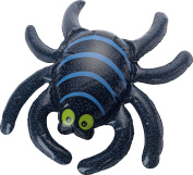 Smiffy's 48273 Inflatable Spider, Black, One Size