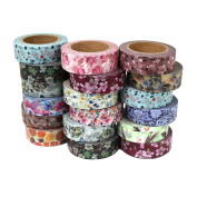 Washi Tape Sticky Paper For Creative Projects - Floral 10m