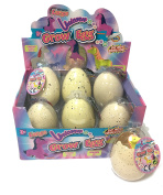 Childrens Large Magic Grow Your Own Unicorn Egg for Girls Birthday & Xmas Present Toy Hatch Your Own Growing Toy