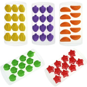 TIREOW Silicone Fruit Shape DIY Ice Jelly Chocolate Cake Mould Tools