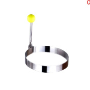 Dreammy Stainless steel Cute Shaped Fried Egg Mould Pancake Rings Mould Kitchen Tool New Round