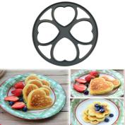 Pancakes Eggs Moulds,Sansee 4 Shapes Non Stick Pancake Pan Flip Perfect Breakfast Maker Egg Omelette Tools