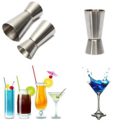 IGEMY Bar Craft Stainless Steel Dual Spirit Measure Cup