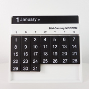 Bespoke Always Calendar WhiteBlack