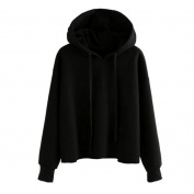 Webla Women Fashion Loose Hoodie Warm Sweatshirt Long Sleeve Hooded Tops Blouse