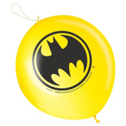 2 DC Comic BATMAN Classic Children's Birthday Party Latex Punch Balloons Favours