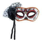 Adult Halloween Mask Day Of The Dead Masquarade Skull Eye Mask