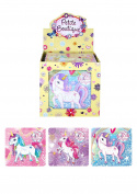 25 Piece Unicorn Jigsaw Puzzle 13cm x 12cm 3 Assorted Designs Pack of 6