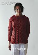 Erika Knight Ladies Caravan Sweater Gossypium Cotton Knitting Pattern DK