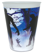 Halloween Zombie Walker Party Table Wear Cups Horror Scary Decorations Party Fancy Dress Accessory