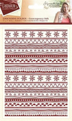 Sara Signature Collection Scandinavian Christmas Folder - Contemporary Folk, Transparent