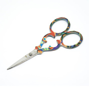 "Quantum Art Stainless Steel Embroidery Scissors Straight 90mm - 3.5"" inch - ESS-06"