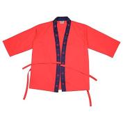 Yunhigh Japanese Cuisine Chef Apron Unisex, Short Sleeve Chef Jacket Uniform