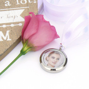 Picture Frame Bouquet Charm - Memory Locket - Photo Locket