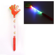 HK Toys Childrens Flashing Glow LED LIGHT UP CLAP HANDS -Light Up Wand, Party Bags Toy & Mobile Eraser