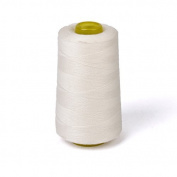 Cotton Sewing Thread for Sewing Machine 3000 Yards Unbleached White
