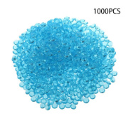 Dreammy 1000 pcs Scatter Diamonds Table Crystals Acrylic Confetti Wedding Party Sky Blue