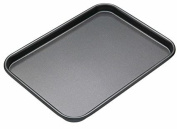 Small Oven Tray - Teflon Long Lasting British Standards - Cooking Bake Baking Equipment Oven Dishwasher with Easy Safe Clean Off Technology - Size is 25 x 17 x 2.5 (cm - Approx) - By Guilty Gadgets