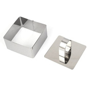 DealMux Stainless Steel DIY Small Mousse Ring Lamy Cheese Cake Mould Food Moulding Tool
