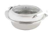 Bon Chef 20300 Stainless Steel Induction Chafing Dish, 5.7lCapacity, 50cm Length x 48cm - 1.3cm Width x 20cm - 1.3cm Height