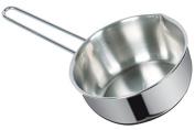 viscio Trading 166324 Conical Saucepan, Aluminium, Grey