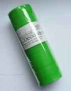 Eleganza Lime No.14 Deco Mesh, Green, 25 cm x 9.1 m