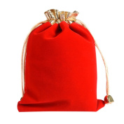 Sundlight 10Pcs 12*16cm Luxury Soft Velvet Bags Drawstring Gift Bags Jewellery Pouches Candy Bags