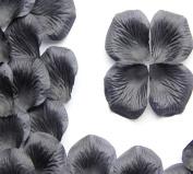 Cdet 500Pcs/Lot Artificial Flowers Black Rose Petal Simulation Petal Wedding Petal Fake Petal Decoration for Hotel Event Party Christmas