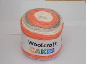 Woolcraft Cakes 200g Aran weight Peaches and Cream 13