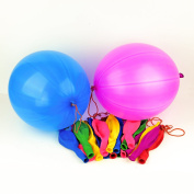 Happium - 25 X Large 41cm Punch Ball Balloons Assorted Colours