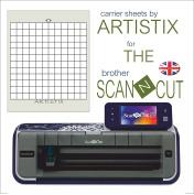 ScanNCut Artistix Cutting Mat Carrier Sheet Scan n Cut